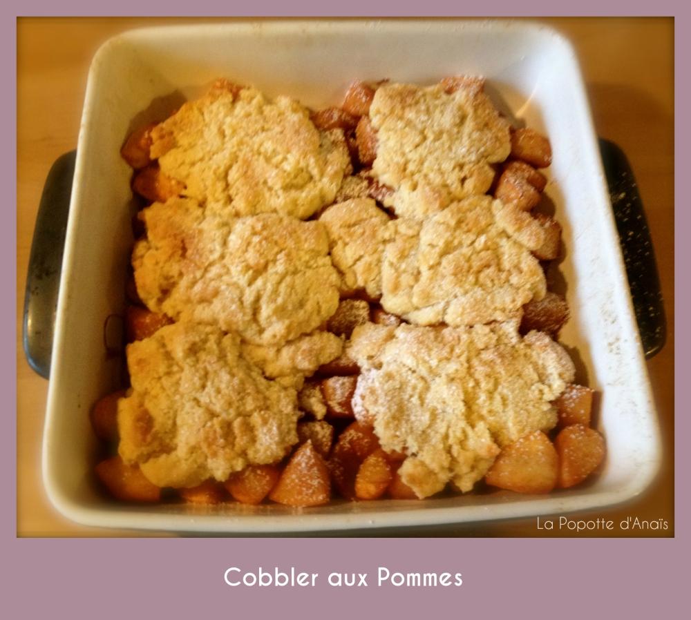 Cobbler aux Pommes