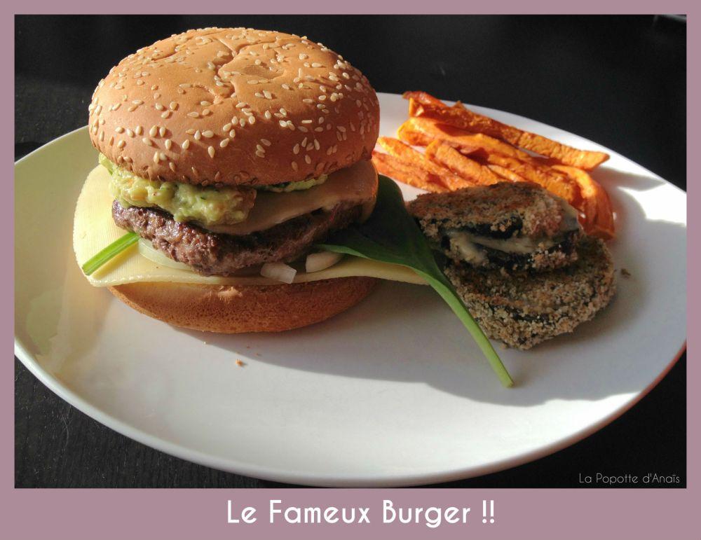 Le Fameux Burger !!