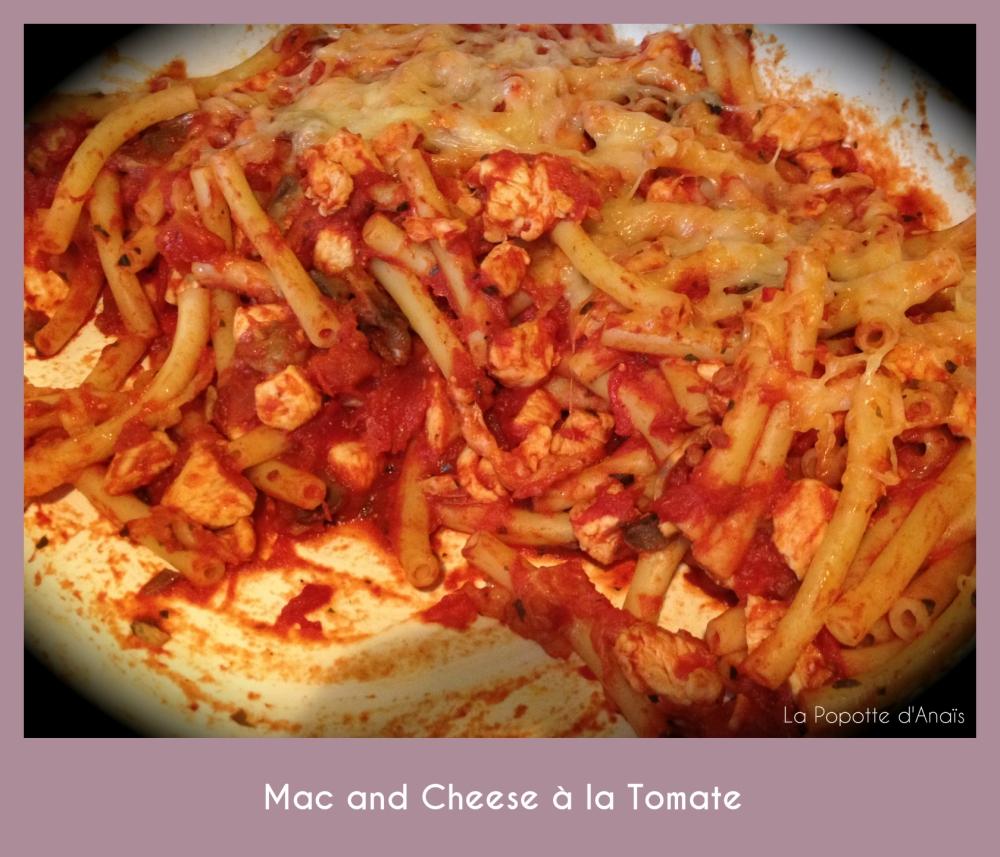 Mac and Cheese à la Tomate