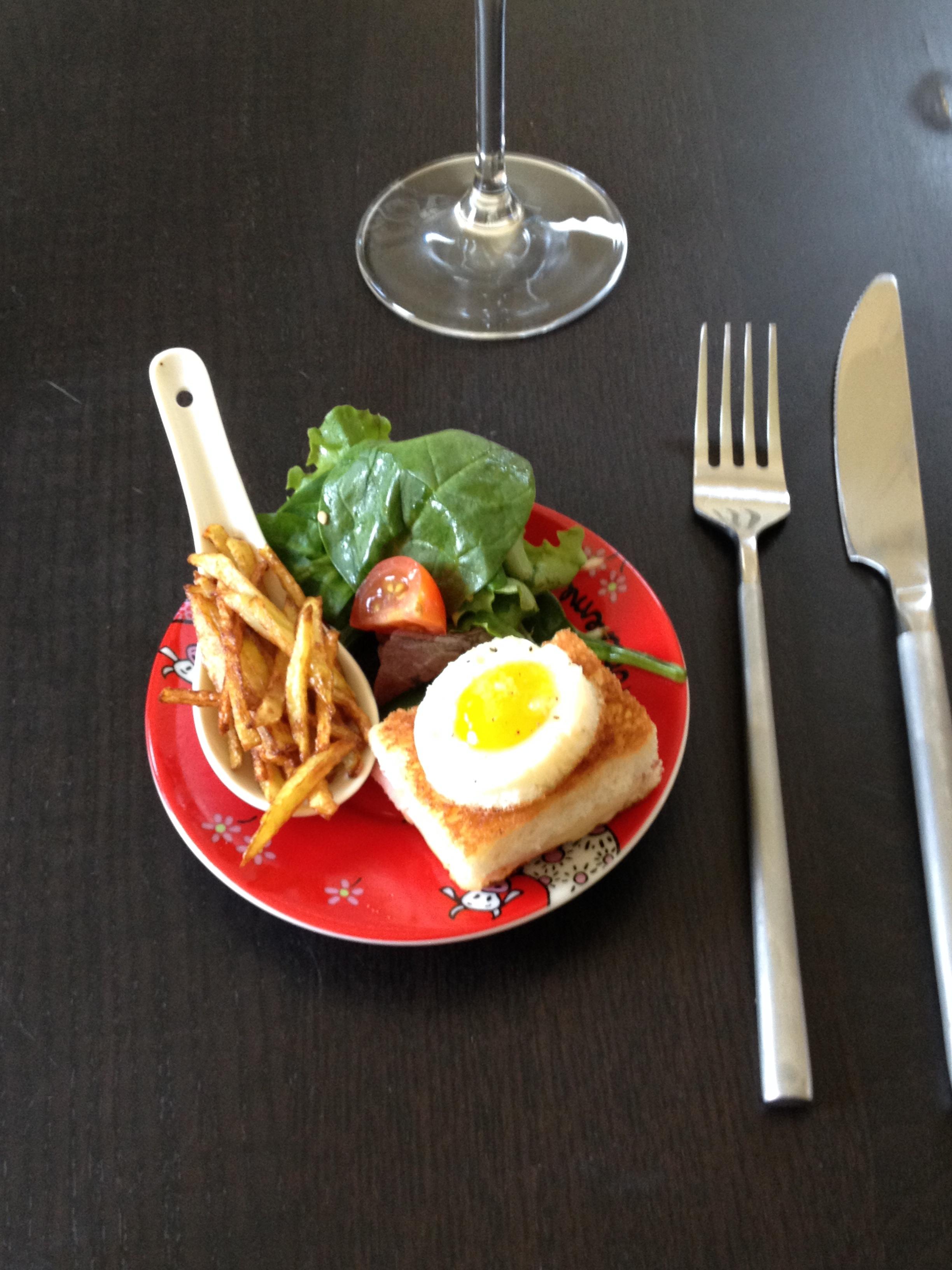 Mini Croque Madame D Fi Cuisine Tout Mini La