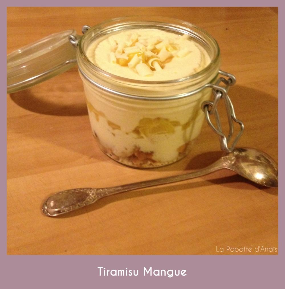 Tiramisu Mangue