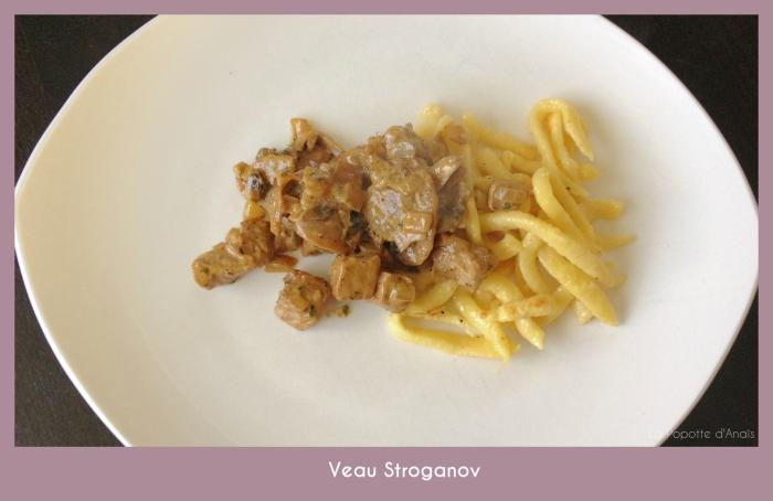 Veau Stroganov