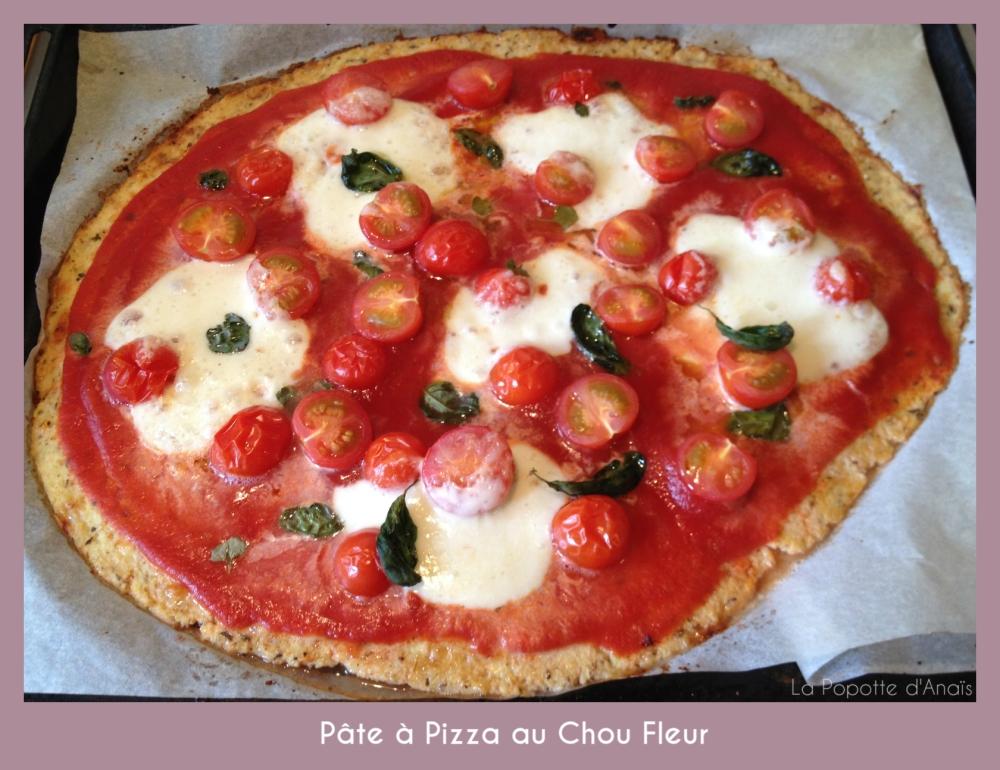 Pâte à Pizza au Chou Fleur