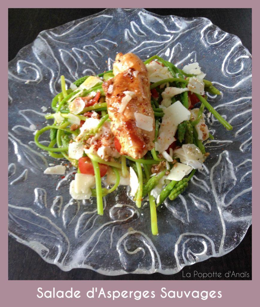 Salade d'Asperges Sauvages