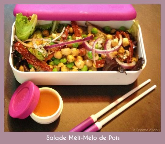 Salade Méli-Mélo de Pois