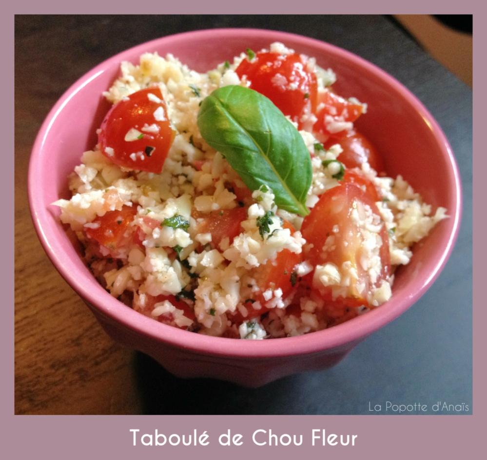 Taboulé de Chou Fleur