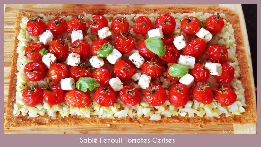 Sablé Fenouil Tomate