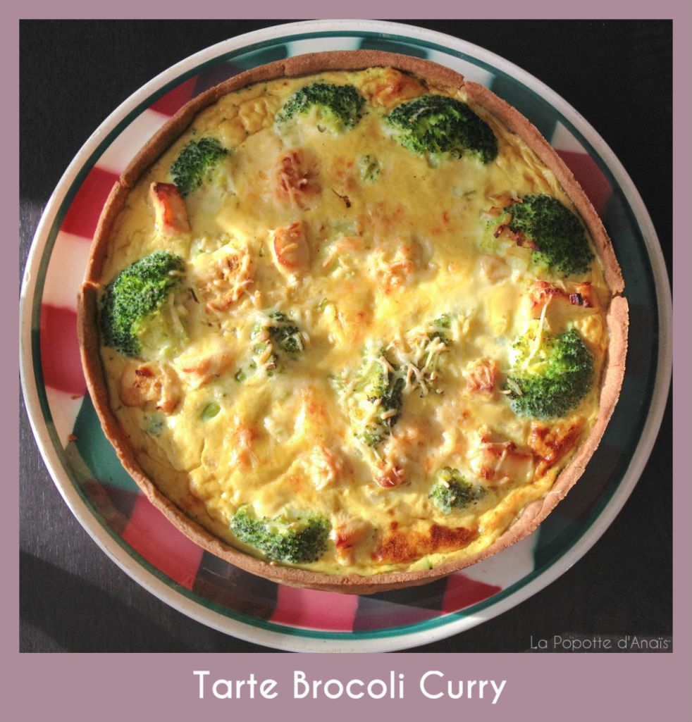 Tarte Brocoli Curry