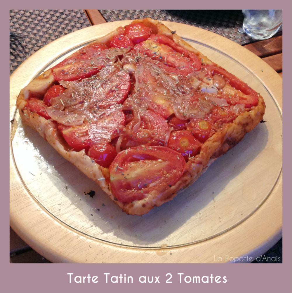 Tarte Tatin aux 2 Tomates