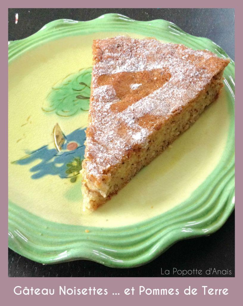 Gâteau Noisettes ... et Pommes de Terre