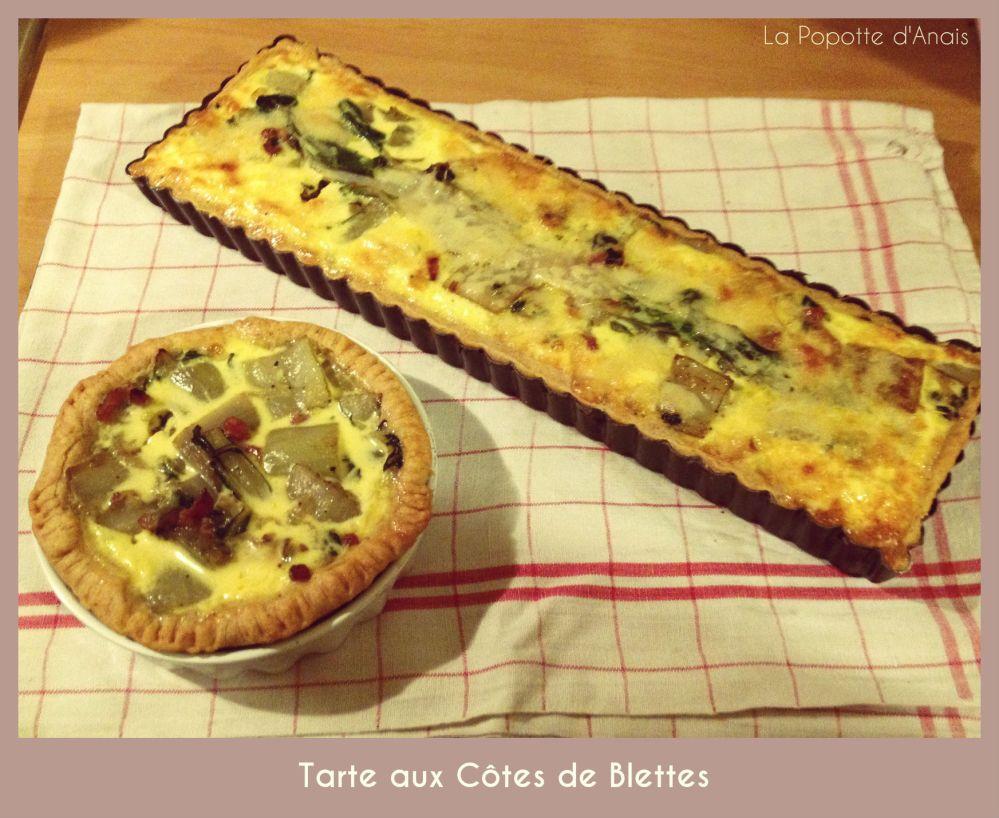 Tarte aux Côtes de Blettes