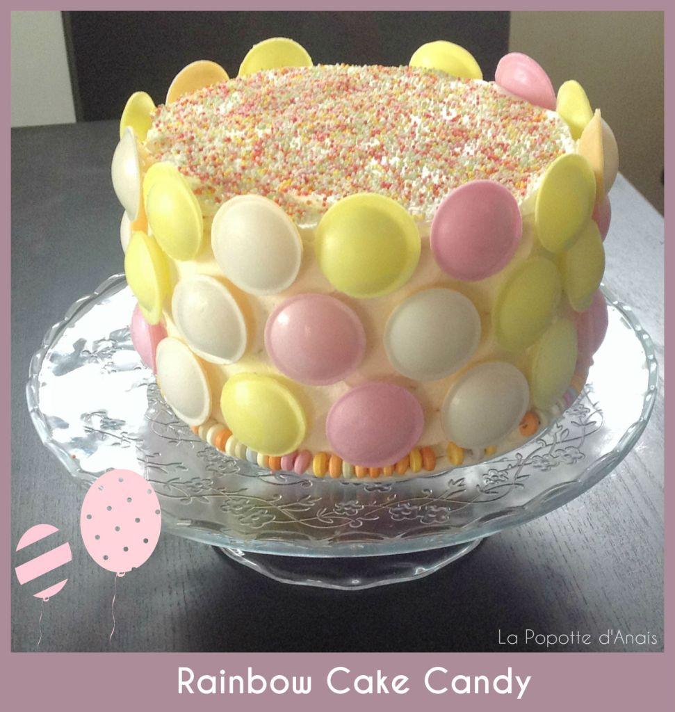 Rainbow Cake Candy
