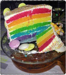 Intérieur Rainbow Cake Candy