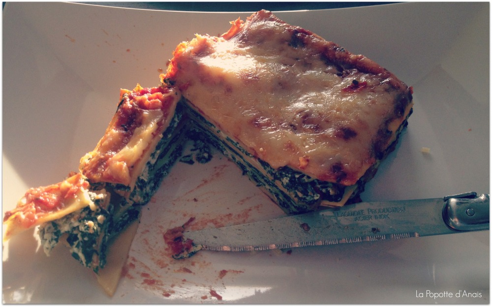 Lasagne Epinards Ricotta