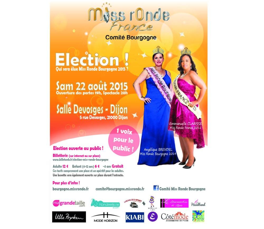 Miss Ronde Bourgogne 2015