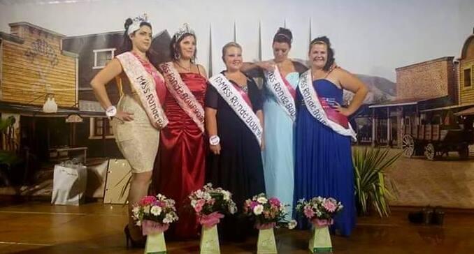 Miss Ronde Bourgogne 2014 Miss Ronde Bourgogne 2015 et ses Dauphines