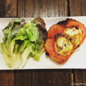 Tartine Tomate Chèvre